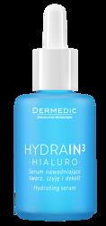 DERMEDIC Hydrain3 Serum nawadniające twarz, szyję i dekolt 30ml