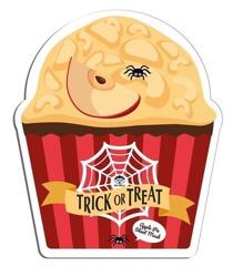 DR.MOLA TRICKorTREAT sheet mask Apple Pie Oczyszczająco-wygładzająca maska w płachcie 23ml