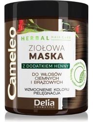 Delia Cameleo Ziołowa maska do włosów ciemnych i brązowych 250ml