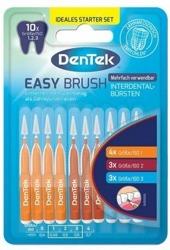 DenTek Easy Brush Multi Pack Szczoteczki do przestrzeni międzyzębowych 10szt.