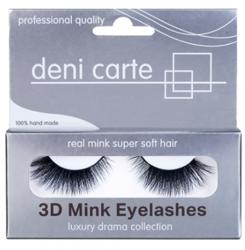 Deni Carte 3D Mink Eyelashes A-12 Sztuczne rzęsy 1 para