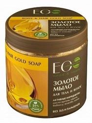 EO LAB Złote marokańskie mydło do włosów i ciała 450ml