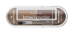 Essence Brow Powder Set Paleta cieni do brwi 01 light&medium