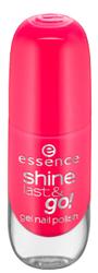 Essence Shine Last&Go! Żelowy lakier do paznokci 13 Legally pink 8ml