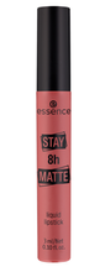 Essence Stay 8h MATTE Liquid Lipstick Matowa pomadka w płynie 07 Let's chill 3ml