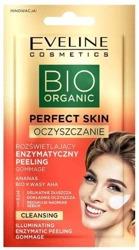Eveline Cosmetics BIO Organic Perfect Skin Oczyszczenie Rozświetlający enzymatyczny peeling do twarzy 8ml