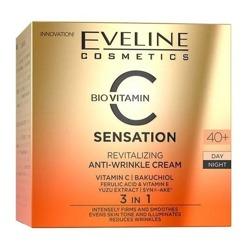 Eveline Cosmetics C-SENSATION Rewitalizujący krem przeciwzmarszczkowy 40+ 50ml