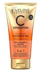 Eveline Cosmetics C-SENSATION Żel do mycia twarzy 3w1 150ml