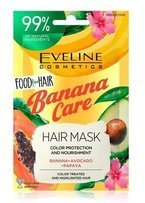 Eveline Cosmetics Food for Hair maska do włosów Banana Care 20ml