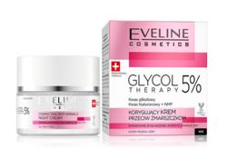 Eveline GLYCOL THERAPY 5% Krem przeciwzmarszczkowy na noc 50ml