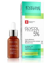 Eveline GLYCOL THERAPY 5% Kuracja przeciw niedoskonałościom na noc 18ml