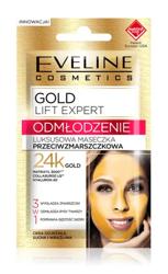 Eveline GOLD Lift Expert Luksusowa maseczka przeciwzmarszczkowa 3w1 7ml