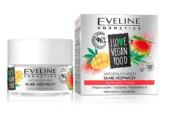 Eveline I LOVE VEGAN FOOD Odżywczy krem do twarzy Olej konopny/Mango 50ml