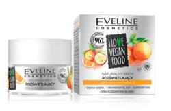 Eveline I LOVE VEGAN FOOD Rozświetlający krem do twarzy Camu Camu/Masło pomarańczowe 50ml