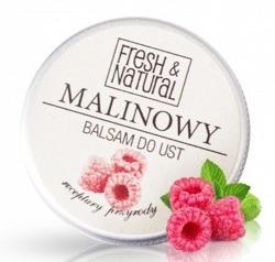 FRESH&NATURAL Balsam do ust MALINOWY 15ml