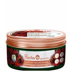Farmona Herbs OLEJEK MAKOWY Lipidowy peeling do rąk 100 g