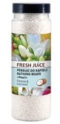 Fresh Juice Perełki do kąpieli - Frezja i Kokos 450g