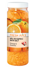 Fresh Juice sól do kąpieli Orange&Guarana 700g
