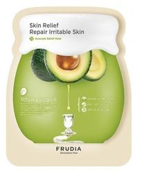 Frudia Avocado Relief Sheet Mask Odżywczo-regenerująca maska do twarzy 27ml