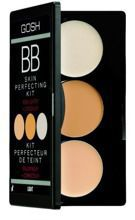 GOSH BB Skin Perfecting Kit - Paleta BB korektorów z rozświetlaczem, 01 Light