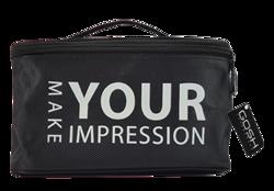 GOSH Beauty Bag Czarna kosmetyczka 220x120x120mm