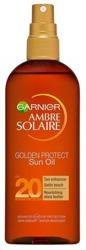 Garnier Ambre Solaire UV SPF20 Golden Protect Oil Olejek ochronny do opalania 150ml