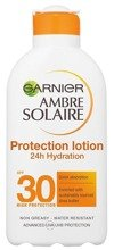 Garnier Ambre Solaire UV SPF30 Protection Lotion 24h Hydration Nawilżający balsam ochronny do ciała 200ml