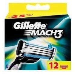 Gillette Mach 3 Wkłady 12