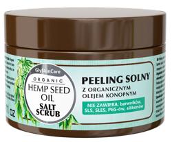 GlySkinCare Hemp Seed Oil Peeling solny z organicznym olejem konopnym 400g