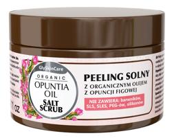 GlySkinCare Opuntia Oil Peeling solny z organicznym olejem z opuncji figowej 400g