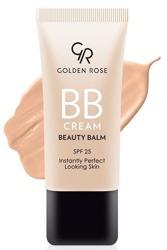 Golden Rose BB Cream SPF25 Lekki krem BB 02 Fair
