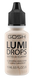 Gosh Lumi Drops - Płynny rozświetlacz 002 Vanilla 15ml