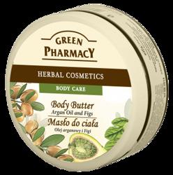 Green Pharmacy Masło do ciała Olej arganowy i Figi 200 ml