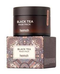 HEIMISH Black Tea Mask Pack Maska do twarzy z wyciągiem z czarnej herbaty 110ml