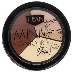 Hean Mini Contour Trio - Paletka do konturowania 6g