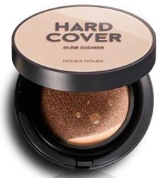 Holika Holika Hard Cover Glow Cushion  03 Honey Jedwabisty krem BB 14g + ZAPAS