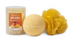 IDC Institute SMOOTHIE Zestaw produktów do kąpieli Mango