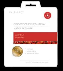 INITIALE Maska peel-off Odżywcza pielęgnacja Acerola 12g