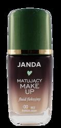 JANDA Matujący make-up fluid fleksyjny 00 Beż bardzo jasny 30ml