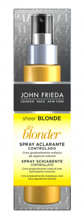 John Frieda Sheer Blonde Go Blonder Lightening Spray Rozjaśniający spray do włosów blond 100ml