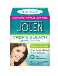 Jolen Hair Bleach Rozjaśniacz włosków na twarzy ciele i brwi 7g/28g