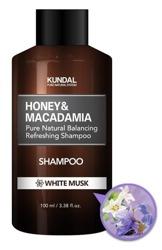 KUNDAL Hair Shampoo Szampon do włosów WHITE MUSK 100ml