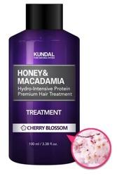 KUNDAL Honey&Macadamia Treatment CHERRY BLOSSOM Odżywka do włosów Kwiat wiśni 100ml