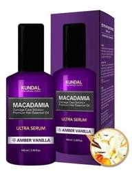 KUNDAL Macadamia Ultra Serum Serum do włosów AMBER VANILLA 100ml