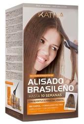 Kativa Alisado Brasileno Straightening Glyoxylic & Keratina Zestaw do keratynowego prostowania włosów