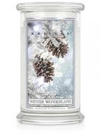 Kringle Candle duży słoik Winter Wonderland 624g