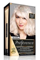 LOREAL PARIS RECITAL PREFERENCE Farba do włosów 10.21 STOCKHOLM Bardzo jasny blond perłowy