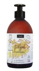 LaQ Płyn oczyszczający Antybakteryjny 65% alkoholu 500ml