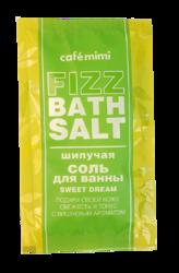 Le Cafe Mimi Fizz bath salt Musująca sól do kąpieli SWEET DREAM 100g