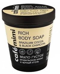 Le Cafe Mimi Rich Body Soap Mydło do ciała Kakao&Czarny węgiel 220ml